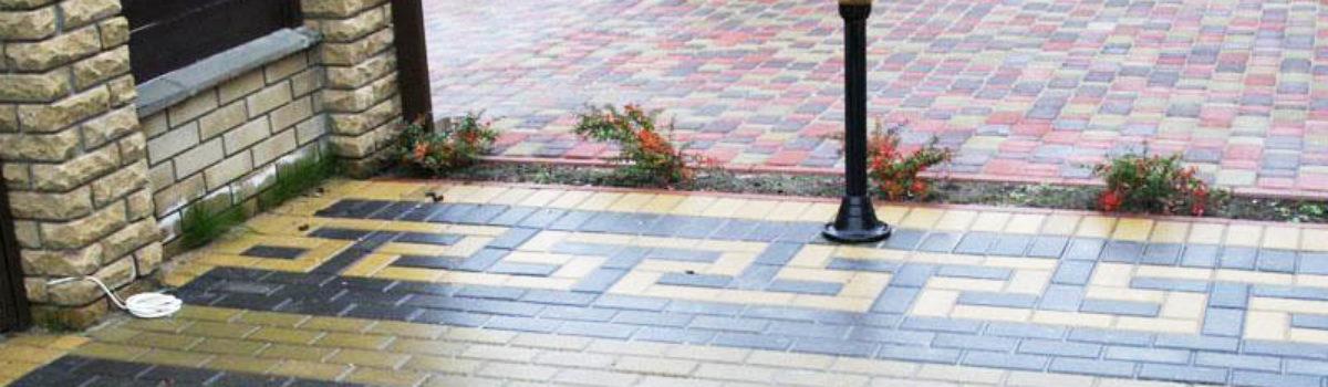 Укладка тротуарной плитки температура